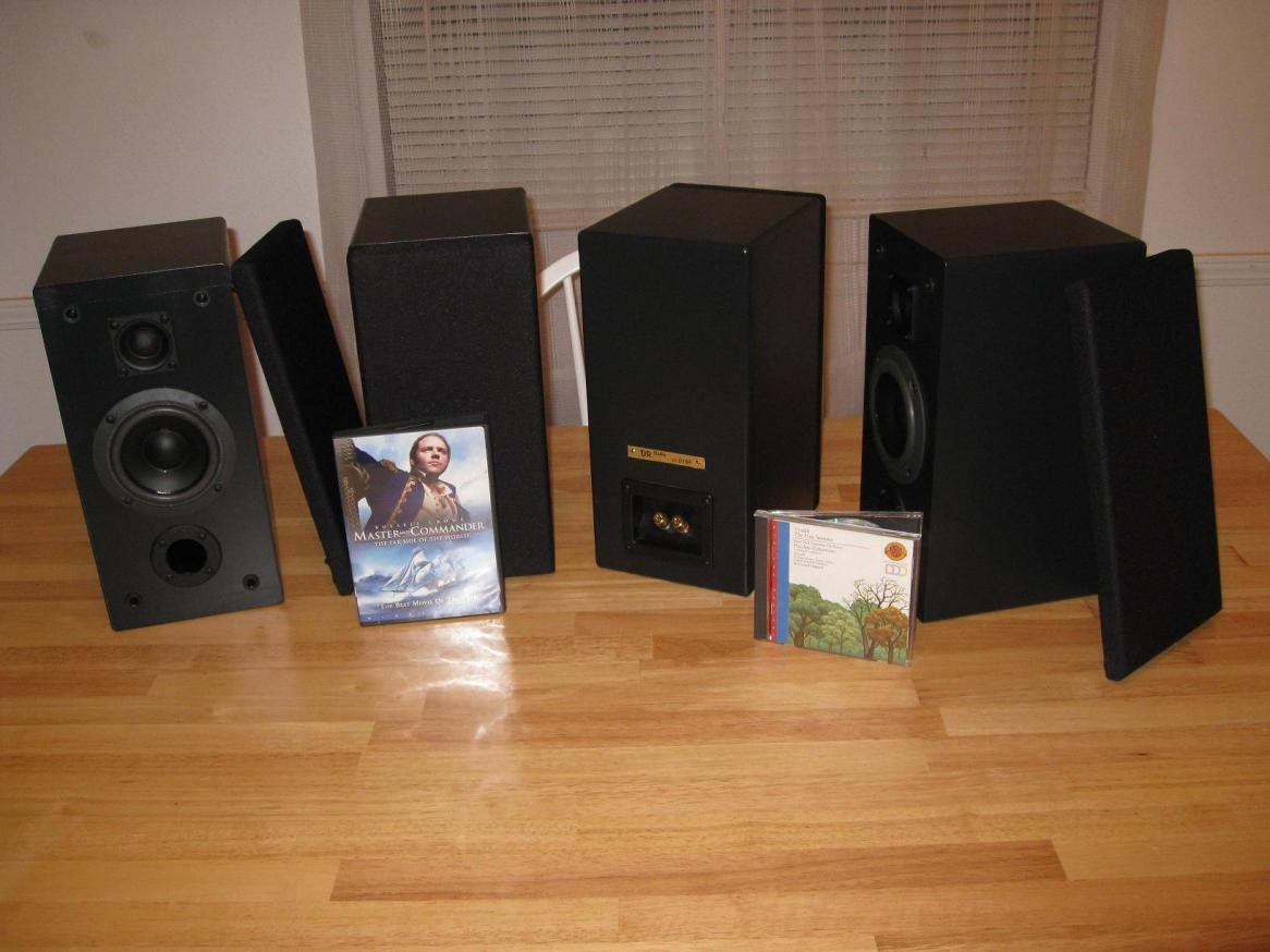 Diy Satellite Type Surround Sound Speakers Techtalk