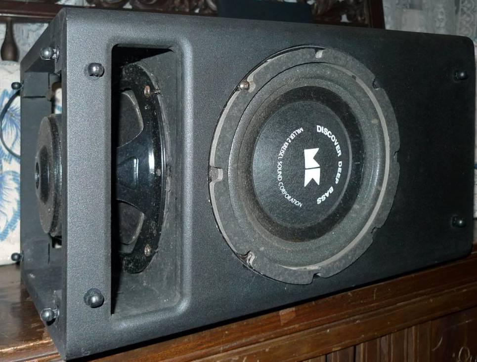 Isobaric Bass Cabinet Techtalk Speaker Building Audio