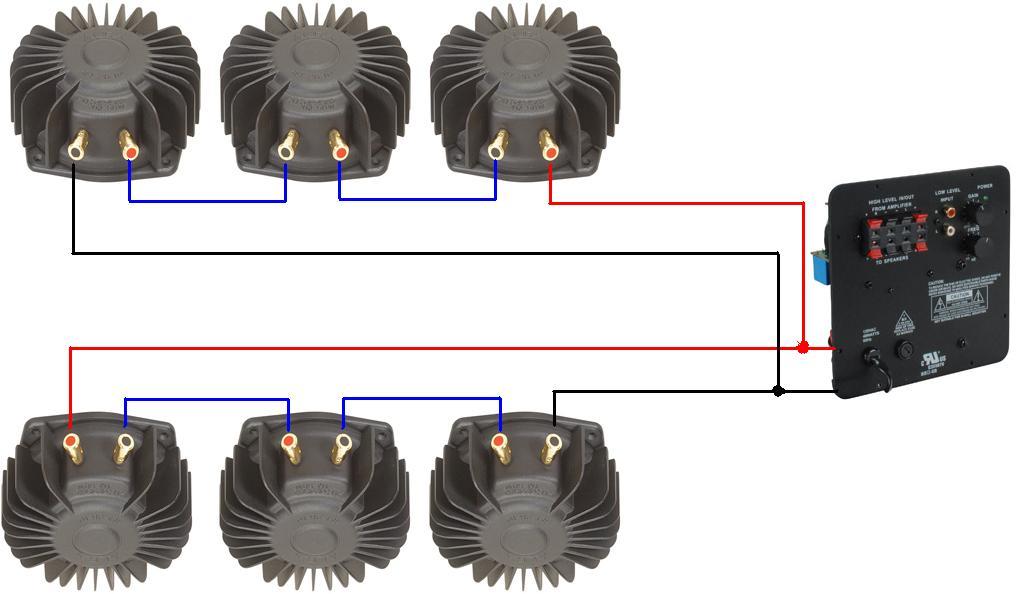 Six Bass Shakers And One Dayton SA W Plate Amp Techtalk - Aura bass shaker wiring diagram