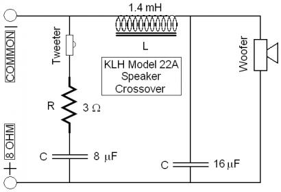 Resistor Needed to Trim Tweeter? - Techtalk Speaker Building, Audio