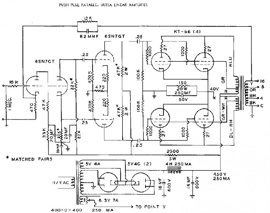 tube amp schematic wanted
