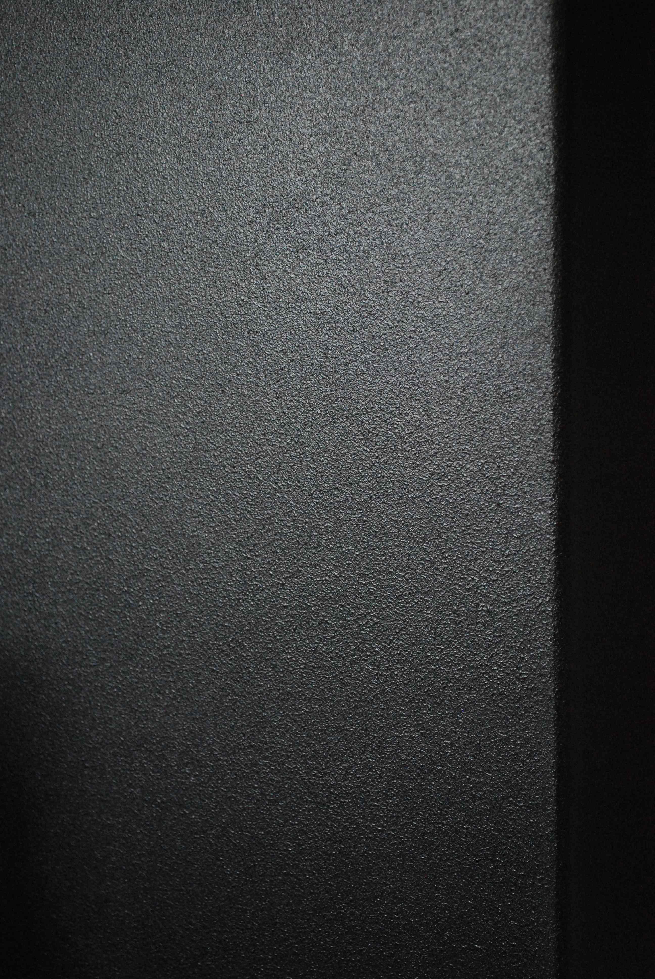 Almost flat low sheen black paint Techtalk Speaker Building