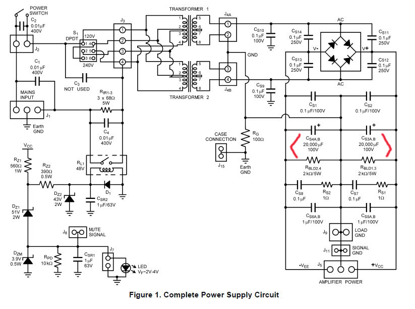 class d amp psu question for charlie laub and others