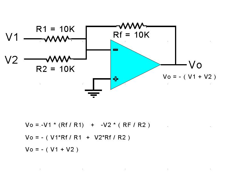 stereo to mono summing circuit