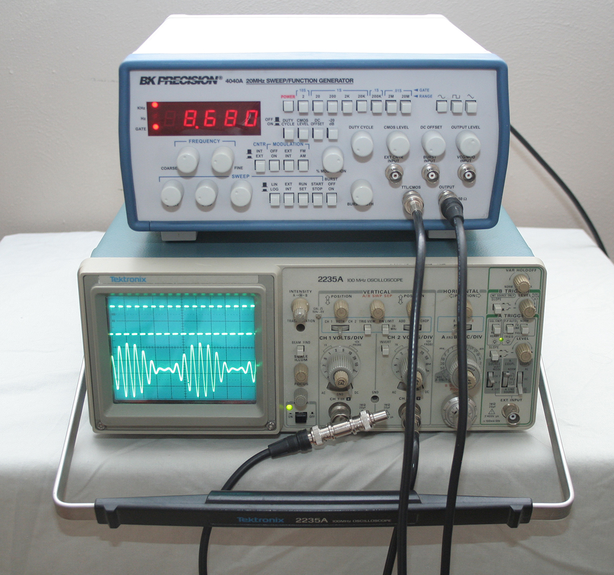 Fs Bk Precision 4040a 20mhz Sweep Function Generator Us Click Image For Larger Version Name Operation Views 1 Size 6348