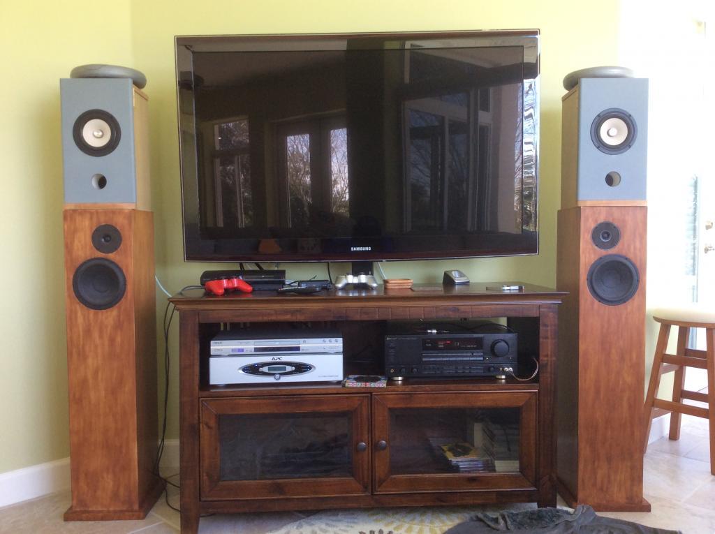 baffle step compensate for tb w5 2143 full range techtalk speaker