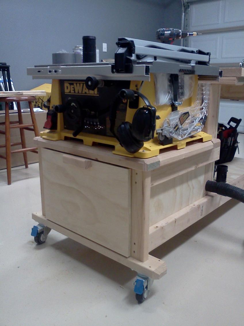 Latest Project Table Saw Workbench Techtalk Speaker