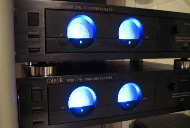 Carver Tfm 15cb Amplifiers Techtalk Speaker Building