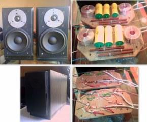 MOREL DIY 2-way speaker project kit, $550  (Toronto, Canada