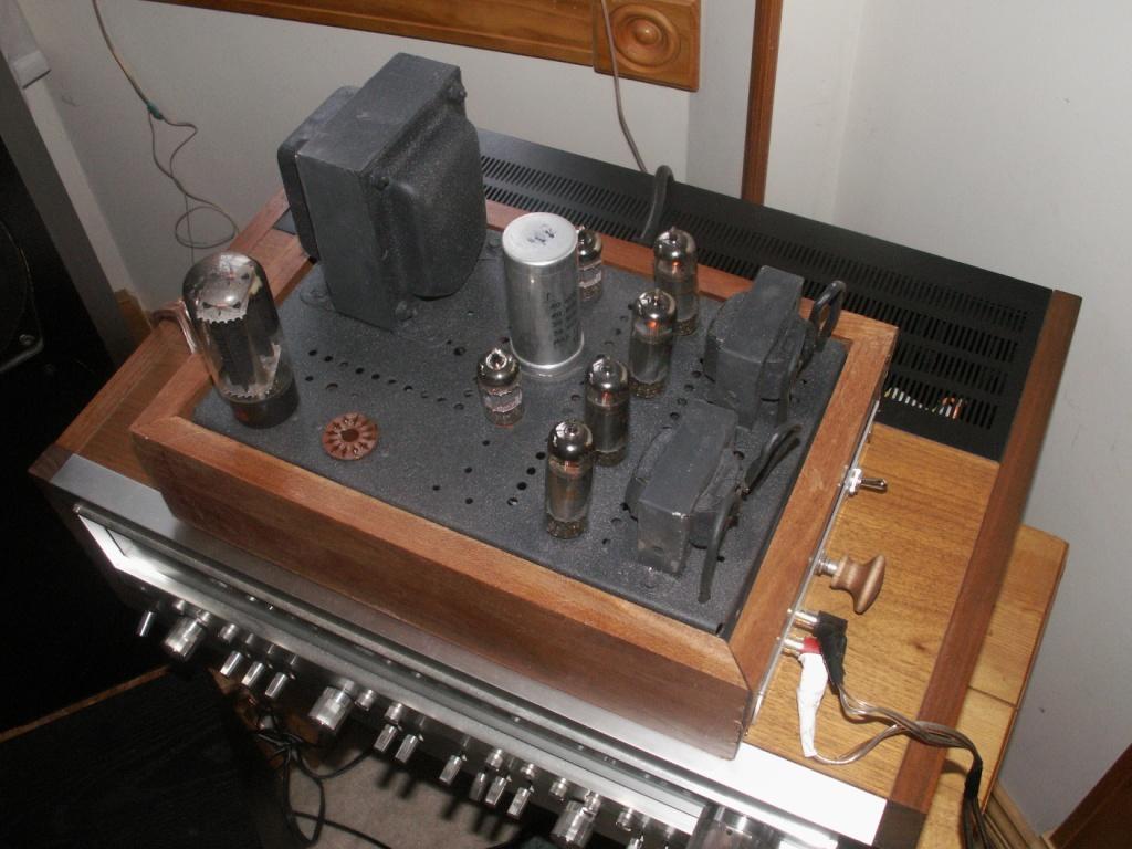 Packard Bell Tube Amp - Techtalk Speaker Building, Audio