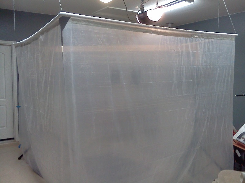 Portable Paint Booth >> DIY spray booth - Techtalk Speaker Building, Audio, Video Discussion Forum