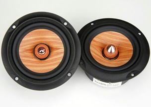Cool Looking Speakers wicked-cool looking drivers: wood cone - techtalk speaker building