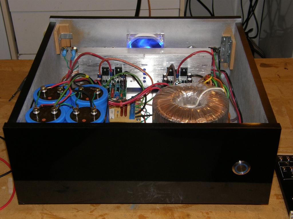 Class Ab Mosfet Amplifier Build Techtalk Speaker Building Audio How To Speach