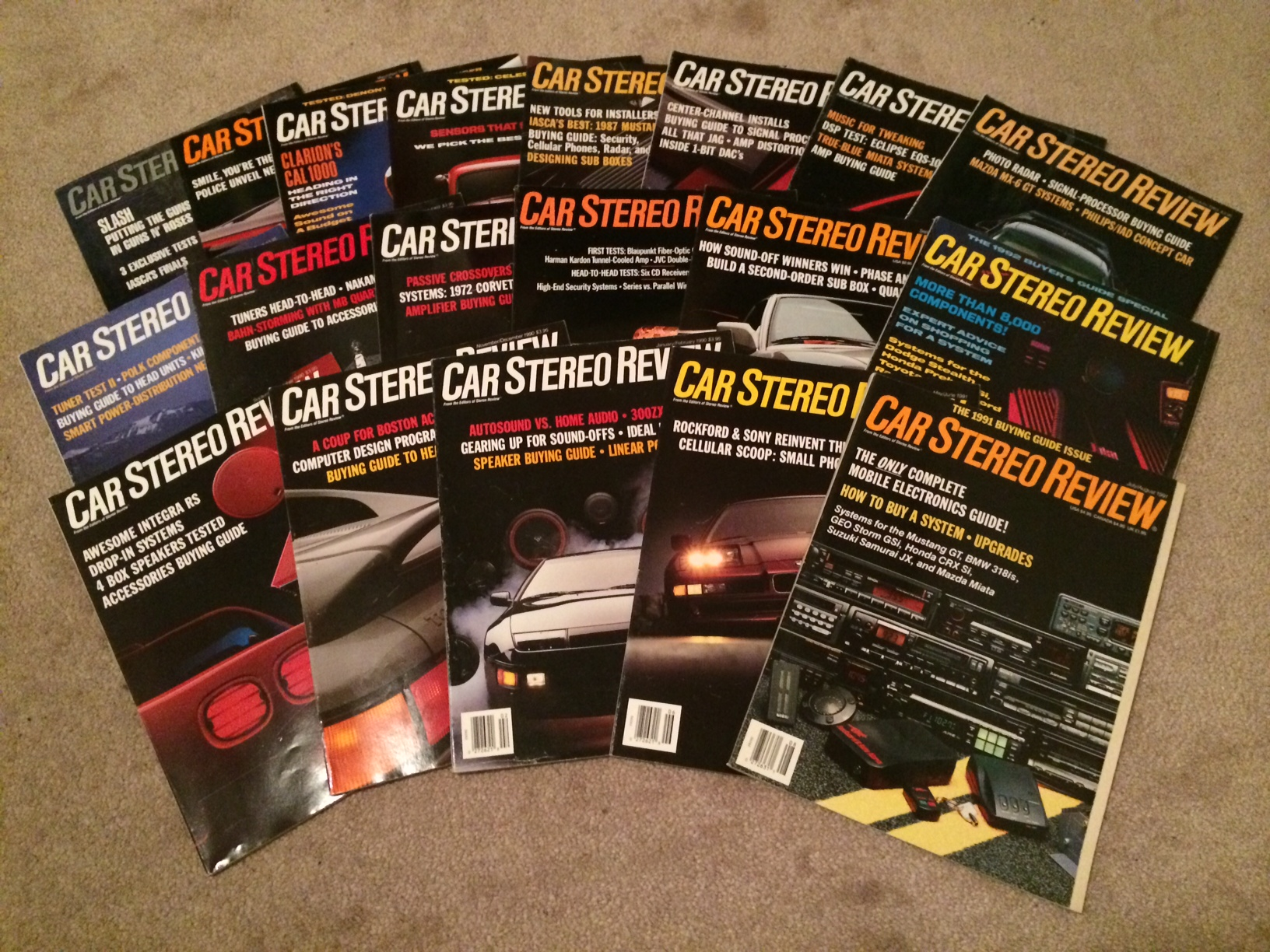 Ot Found My Old Car Audio Magazines From Late 80s And Early 90s So Cool