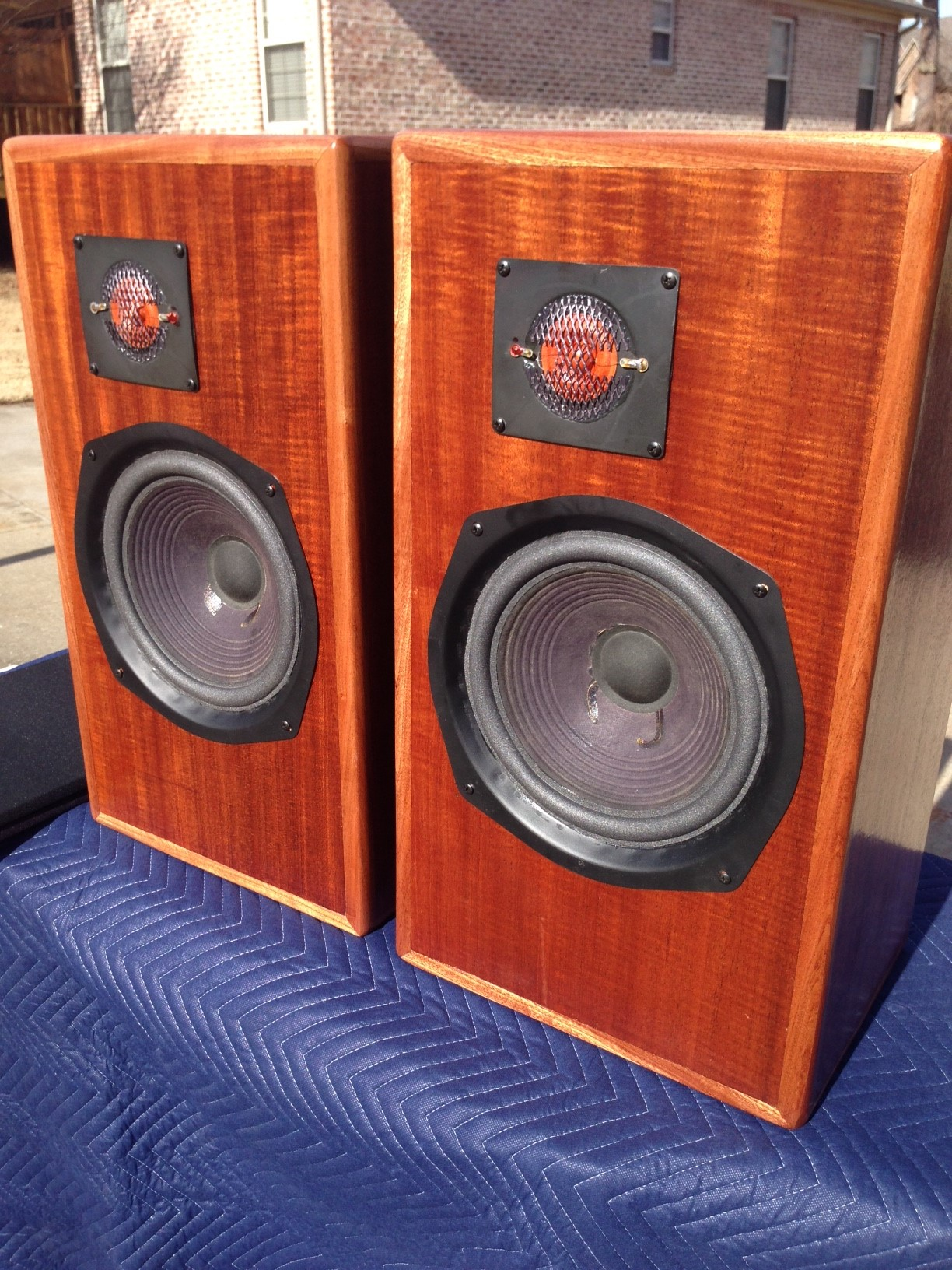 Large Advent U4 Cabinet Redo Techtalk Speaker Building
