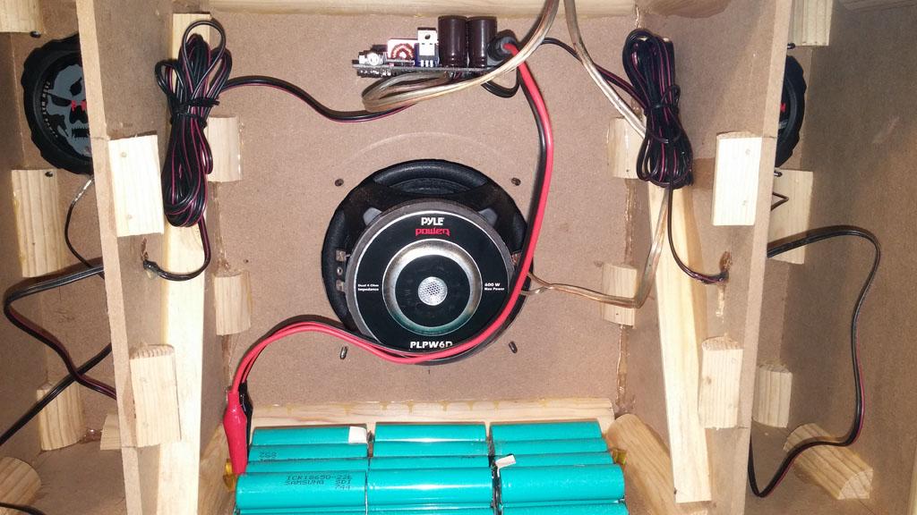 Diy Bluetooth Boombox Noise Issue Techtalk Speaker