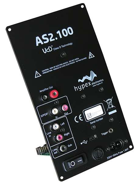 Hypex AS2 1 DSP 2 way plate amplifier pair - Techtalk