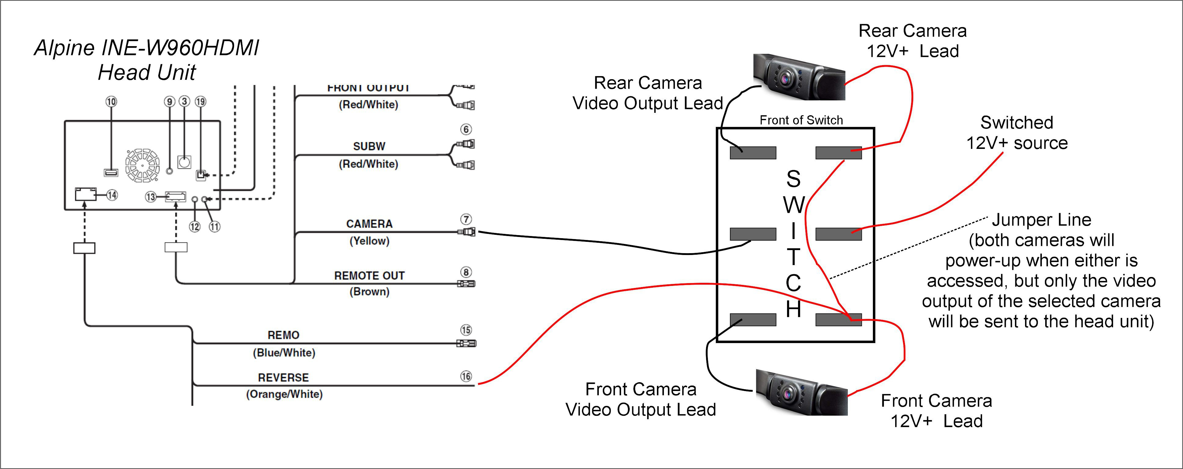 [DIAGRAM_4PO]  Switch Wiring Question -- Did I get this right? - Techtalk Speaker  Building, Audio, Video Discussion Forum | Alpine Camera Wiring Diagram |  | TechTalk Parts Express