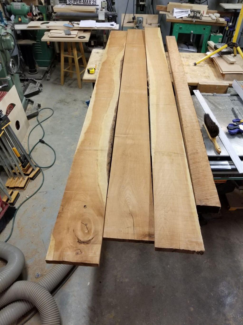 The raw Lumber